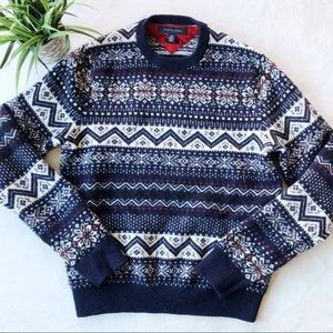 Tommy Hilfiger Fair Isle Lambswool Sweater